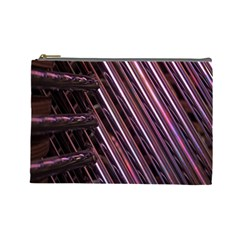 Metal Tube Chair Stack Stacked Cosmetic Bag (large)