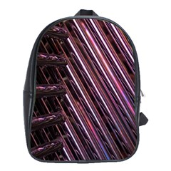 Metal Tube Chair Stack Stacked School Bags(large)