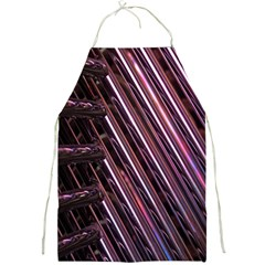 Metal Tube Chair Stack Stacked Full Print Aprons
