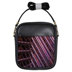 Metal Tube Chair Stack Stacked Girls Sling Bags