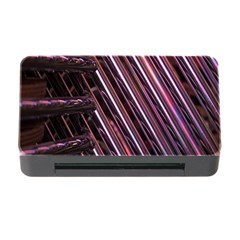 Metal Tube Chair Stack Stacked Memory Card Reader with CF