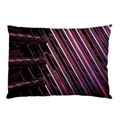 Metal Tube Chair Stack Stacked Pillow Case (two Sides)