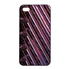 Metal Tube Chair Stack Stacked Apple iPhone 4/4s Seamless Case (Black)