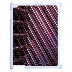 Metal Tube Chair Stack Stacked Apple iPad 2 Case (White)