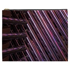 Metal Tube Chair Stack Stacked Cosmetic Bag (xxxl)