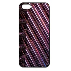 Metal Tube Chair Stack Stacked Apple Iphone 5 Seamless Case (black)