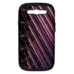 Metal Tube Chair Stack Stacked Samsung Galaxy S Iii Hardshell Case (pc+silicone)