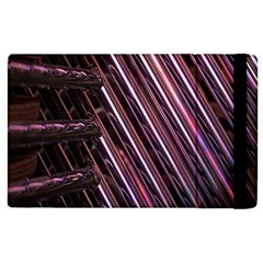 Metal Tube Chair Stack Stacked Apple iPad 3/4 Flip Case