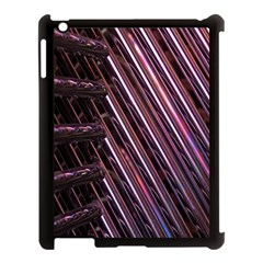 Metal Tube Chair Stack Stacked Apple Ipad 3/4 Case (black)