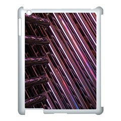 Metal Tube Chair Stack Stacked Apple iPad 3/4 Case (White)