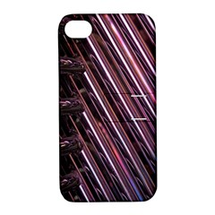 Metal Tube Chair Stack Stacked Apple Iphone 4/4s Hardshell Case With Stand