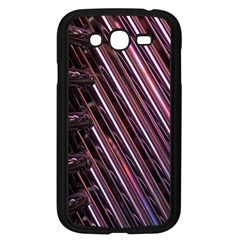 Metal Tube Chair Stack Stacked Samsung Galaxy Grand DUOS I9082 Case (Black)