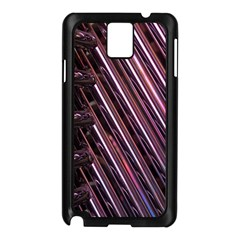 Metal Tube Chair Stack Stacked Samsung Galaxy Note 3 N9005 Case (black)
