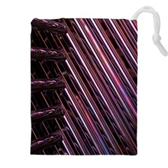 Metal Tube Chair Stack Stacked Drawstring Pouches (XXL)