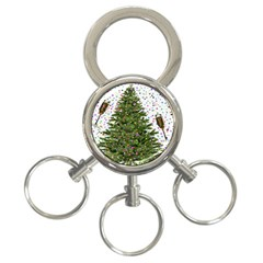New Year S Eve New Year S Day 3 Ring Key Chains