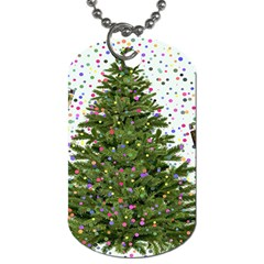 New Year S Eve New Year S Day Dog Tag (two Sides)