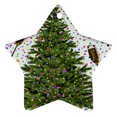 New Year S Eve New Year S Day Star Ornament (Two Sides)