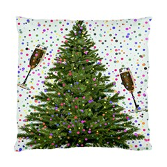 New Year S Eve New Year S Day Standard Cushion Case (One Side)