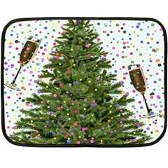 New Year S Eve New Year S Day Fleece Blanket (Mini)