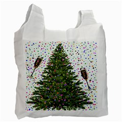 New Year S Eve New Year S Day Recycle Bag (One Side)