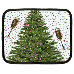 New Year S Eve New Year S Day Netbook Case (XL)