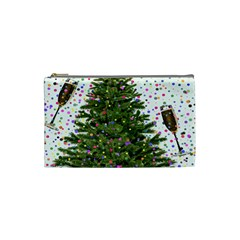 New Year S Eve New Year S Day Cosmetic Bag (Small)