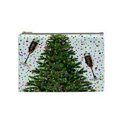 New Year S Eve New Year S Day Cosmetic Bag (medium)
