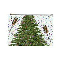 New Year S Eve New Year S Day Cosmetic Bag (large)