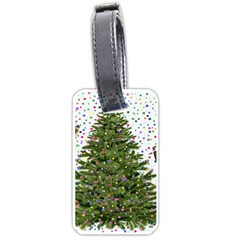 New Year S Eve New Year S Day Luggage Tags (two Sides)