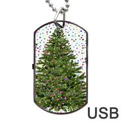 New Year S Eve New Year S Day Dog Tag Usb Flash (one Side)