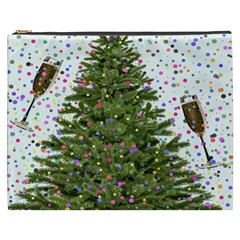 New Year S Eve New Year S Day Cosmetic Bag (XXXL)