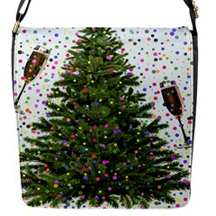 New Year S Eve New Year S Day Flap Messenger Bag (s)