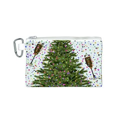 New Year S Eve New Year S Day Canvas Cosmetic Bag (s)