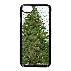 New Year S Eve New Year S Day Apple iPhone 7 Seamless Case (Black)