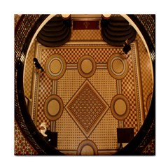 Mosaic The Elaborate Floor Pattern Of The Sydney Queen Victoria Building Tile Coasters