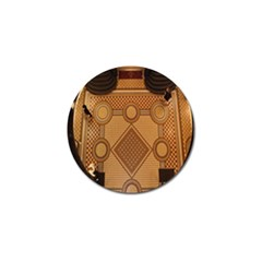 Mosaic The Elaborate Floor Pattern Of The Sydney Queen Victoria Building Golf Ball Marker (10 pack)
