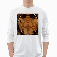 Mosaic The Elaborate Floor Pattern Of The Sydney Queen Victoria Building White Long Sleeve T-Shirts