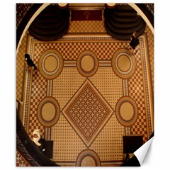 Mosaic The Elaborate Floor Pattern Of The Sydney Queen Victoria Building Canvas 8  x 10