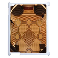 Mosaic The Elaborate Floor Pattern Of The Sydney Queen Victoria Building Apple iPad 2 Case (White)