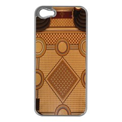 Mosaic The Elaborate Floor Pattern Of The Sydney Queen Victoria Building Apple iPhone 5 Case (Silver)