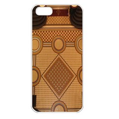Mosaic The Elaborate Floor Pattern Of The Sydney Queen Victoria Building Apple iPhone 5 Seamless Case (White)