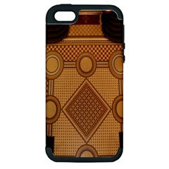 Mosaic The Elaborate Floor Pattern Of The Sydney Queen Victoria Building Apple iPhone 5 Hardshell Case (PC+Silicone)