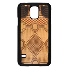 Mosaic The Elaborate Floor Pattern Of The Sydney Queen Victoria Building Samsung Galaxy S5 Case (black)