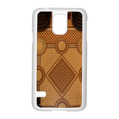 Mosaic The Elaborate Floor Pattern Of The Sydney Queen Victoria Building Samsung Galaxy S5 Case (white)