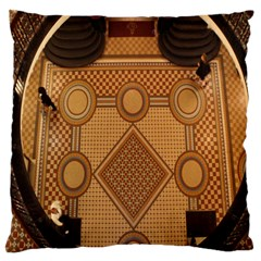 Mosaic The Elaborate Floor Pattern Of The Sydney Queen Victoria Building Standard Flano Cushion Case (one Side)