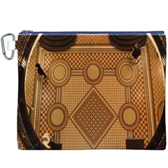 Mosaic The Elaborate Floor Pattern Of The Sydney Queen Victoria Building Canvas Cosmetic Bag (XXXL)