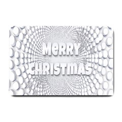 Oints Circle Christmas Merry Small Doormat
