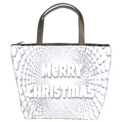Oints Circle Christmas Merry Bucket Bags