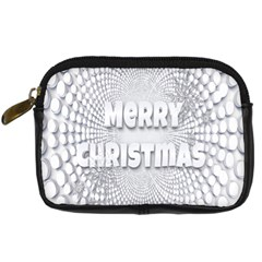 Oints Circle Christmas Merry Digital Camera Cases