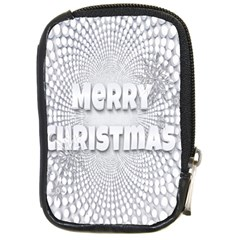 Oints Circle Christmas Merry Compact Camera Cases